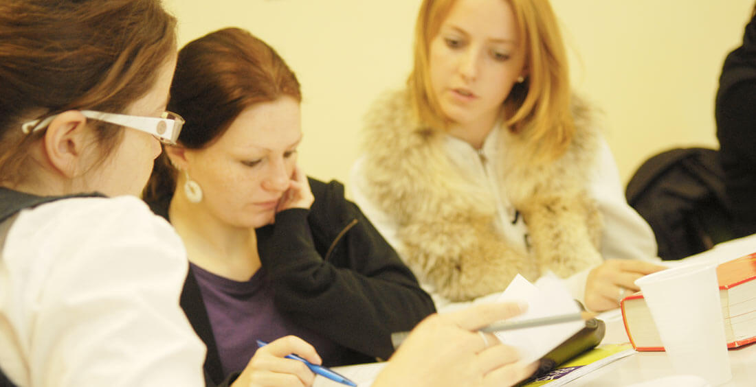 Adult English courses