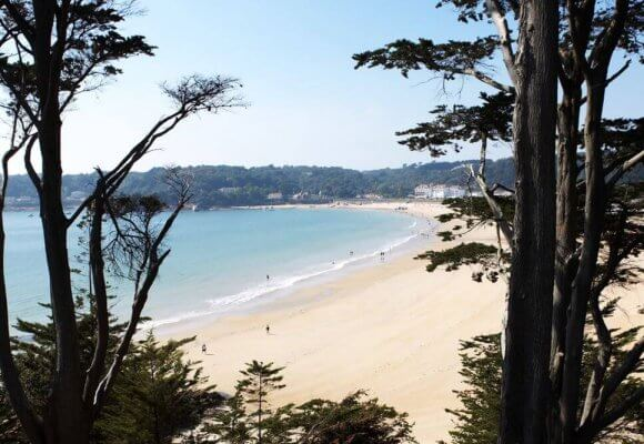 St Brelade's bay is voted the third best beach in the UK